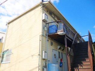 大阪府豊中市春日町2丁目の賃貸アパートの外観