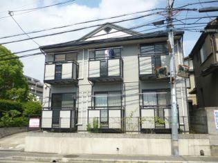 兵庫県西宮市大社町の賃貸アパートの外観