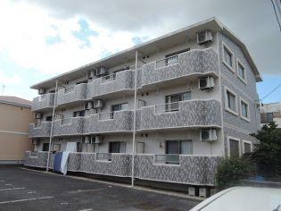 愛知県北名古屋市鹿田合田の賃貸マンションの外観