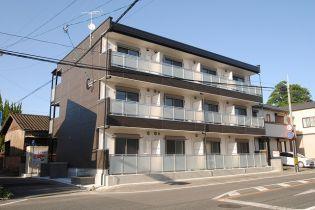 福岡県久留米市大石町の賃貸アパートの外観