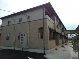 愛媛県西条市樋之口の賃貸アパートの外観