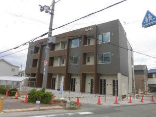 大阪府豊中市大島町1丁目の賃貸アパートの外観