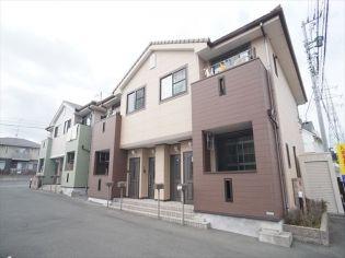 静岡県浜松市浜北区染地台2丁目の賃貸アパートの外観