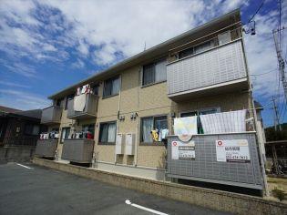 静岡県浜松市北区神宮寺町の賃貸アパートの外観