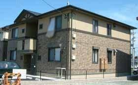 静岡県浜松市浜北区上島の賃貸アパートの外観