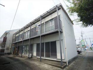 静岡県浜松市浜北区高畑の賃貸アパートの外観