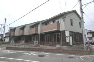 山梨県甲府市上石田3丁目の賃貸アパートの外観