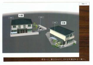 (仮称)伏見区・シャーメゾン山田様邸 A[201号室]の外観