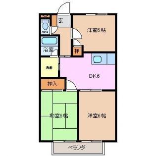 ライフピット八田[2B号室]の外観