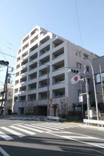 東京都新宿区白銀町の賃貸マンションの外観