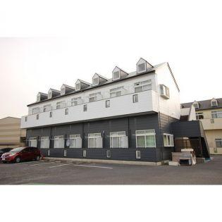 茨城県つくば市下広岡の賃貸アパートの外観