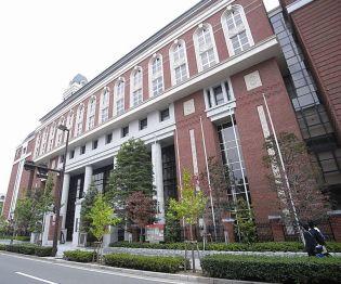 京都府京都市中京区蛸薬師町の賃貸マンションの外観