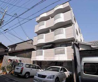 京都府京都市上京区小川通上立売上る挽木町の賃貸マンションの外観
