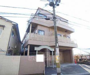 滋賀県大津市鏡が浜字の賃貸アパートの外観