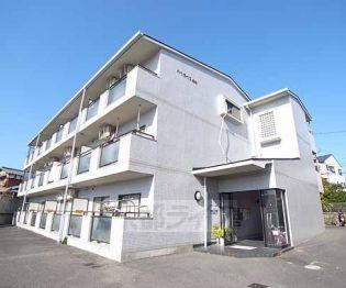京都府向日市物集女町坂本の賃貸マンションの外観