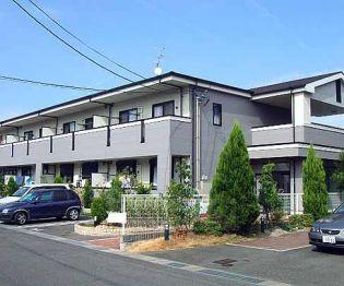 京都府京田辺市草内一ノ坪の賃貸アパートの外観