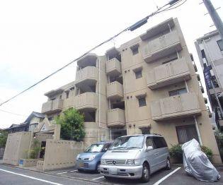 京都府京都市北区紫竹上本町の賃貸マンションの外観