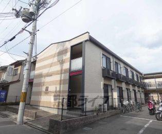 京都府京都市上京区大宮通下立売上る家永町の賃貸アパートの外観