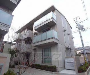 京都府京都市山科区竹鼻地蔵寺南町の賃貸アパートの外観