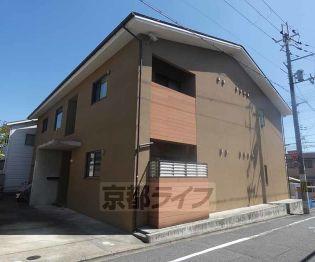 京都府京都市北区平野桜木町の賃貸マンションの外観