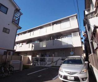 京都府京都市右京区西院北矢掛町の賃貸アパートの外観