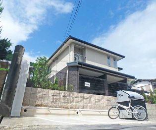 京都府京都市山科区北花山山田町の賃貸アパートの外観