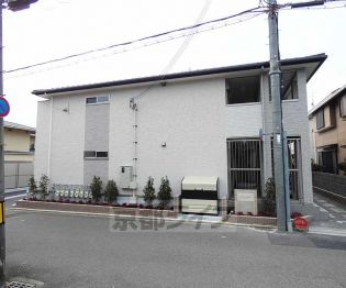 京都府京都市伏見区桃山羽柴長吉中町の賃貸アパートの外観