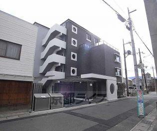 京都府京都市西京区桂南巽町の賃貸マンションの外観