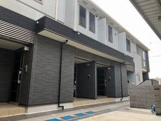 兵庫県姫路市河間町の賃貸アパートの外観