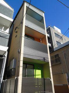 東京都江東区森下3丁目の賃貸アパートの外観
