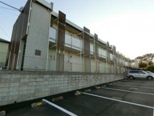 埼玉県日高市大字高萩の賃貸アパートの外観