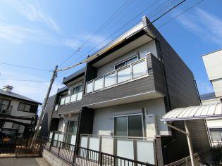 埼玉県上尾市谷津1丁目の賃貸アパートの外観