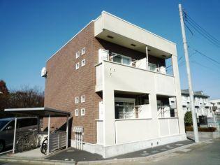 埼玉県上尾市五番町の賃貸アパートの外観