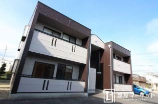 愛知県豊田市花本町宇津木の賃貸アパートの外観