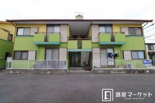 愛知県岡崎市森越町の賃貸アパートの外観