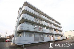 愛知県岡崎市大平町の賃貸マンションの外観