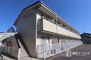 愛知県岡崎市藤川町字松本の賃貸アパートの外観