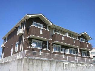愛知県岡崎市若松町の賃貸アパートの外観