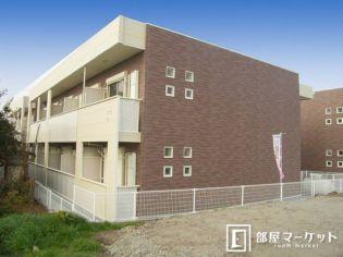 愛知県西尾市平坂町一ノ切の賃貸アパートの外観
