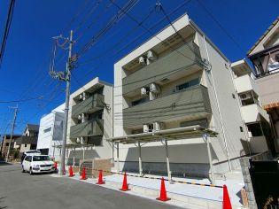 兵庫県西宮市小曽根町1丁目の賃貸アパートの外観