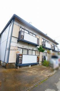 神奈川県逗子市新宿3丁目の賃貸アパートの外観