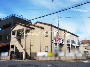 埼玉県蓮田市東3丁目の賃貸アパートの外観