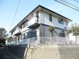神奈川県藤沢市弥勒寺2丁目の賃貸アパートの外観