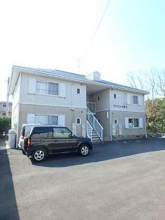 鹿児島県いちき串木野市大里の賃貸アパートの外観