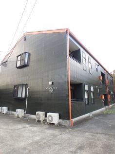 鹿児島県いちき串木野市照島の賃貸アパートの外観