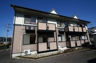 鹿児島県いちき串木野市旭町の賃貸アパートの外観