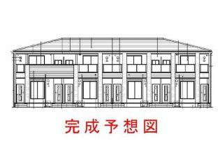 兵庫県神戸市北区南五葉6丁目の賃貸アパートの外観