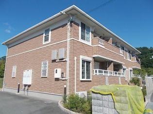兵庫県神戸市北区八多町下小名田の賃貸アパートの外観