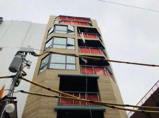 麻布Tino[8階]の外観