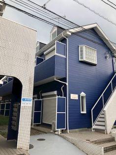 埼玉県東松山市元宿2丁目の賃貸アパートの外観